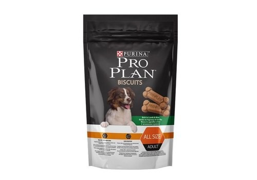 PURINA PRO PLAN BISCUITS LAMB & RICE Лакомство Пурина Про План Бисквиты Ягненок с Рисом 400 гр